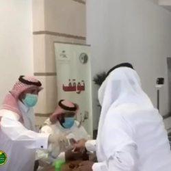 الفرق التطوعية لهيئة الهلال الأحمر السعودي بالمدينة المنورة تشارك في الفرز البصري في المسجد النبوي الشريف والمساجد الكبرى