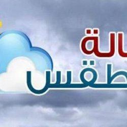حالة الطقس المتوقعة على المملكة ليوم الأربعاء 24-11-1441 هـ / 2020/07/15 م