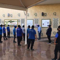 جامعة شقراء تشارك في ملتقى الأندية الطلابية بجامعة الملك خالد