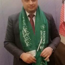 محمد النهدي نائب رئيس مجلس إدارة نادي الصم بالمنطقة الشرقية.