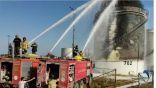 حريق في إحدى المنشآت الرئيسية لتفريغ الوقود وتخزينها في لبنان