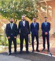 4 حكام سعوديين يحصلون على الشارة الدولية في المبارزة