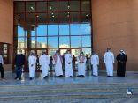 مدير تعليم الشرقية يدشن المبنى المدرسي الجديد لمتوسطة الخليج