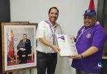 الرئيس المنتدب للجامعة الوطنية الكشفية المغربية يلتقي أمين رواد كشافة الامارات