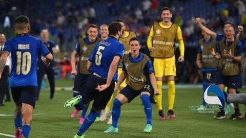 يورو 2020.. إيطاليا تحقق العلامة الكاملة وتهزم ويلز بهدف