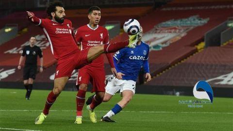 """ليفربول يسقط بثنائية أمام إيفرتون بـ""""ديربي الميرسيسايد"""""""