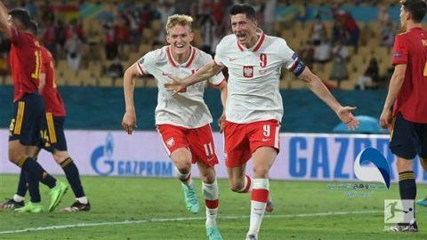 يورو 2020.. بولندا تفرض التعادل على إسبانيا