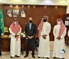 (محافظ الجموم يدشن مبادرة التمكين الرقمي بقطاع شمال مكة الصحي )