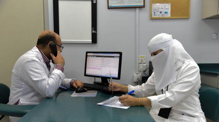 """6143 مستفيد من """" العيادات الافتراضية """" بمجمع الدمام الطبي ..."""