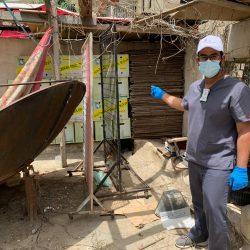 أمانة عسير تضبط مطعما يبيع لحوما فاسدة بمدينة أبها